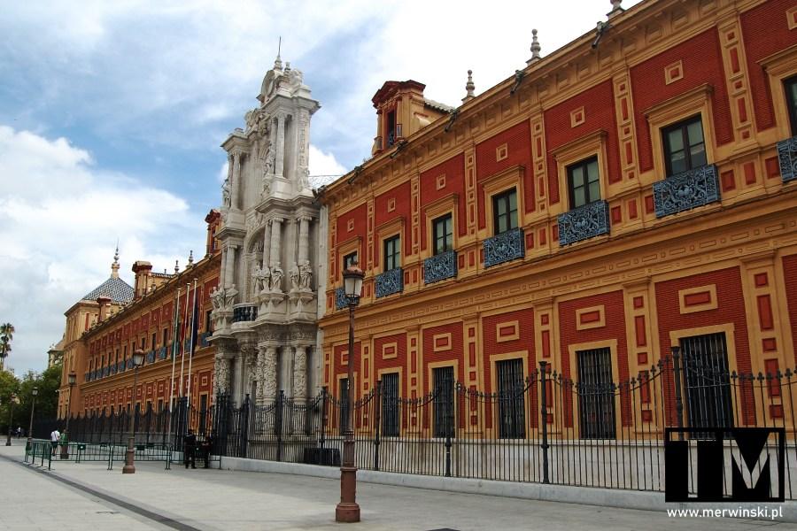 Palacio de San Telmo w Sewilli