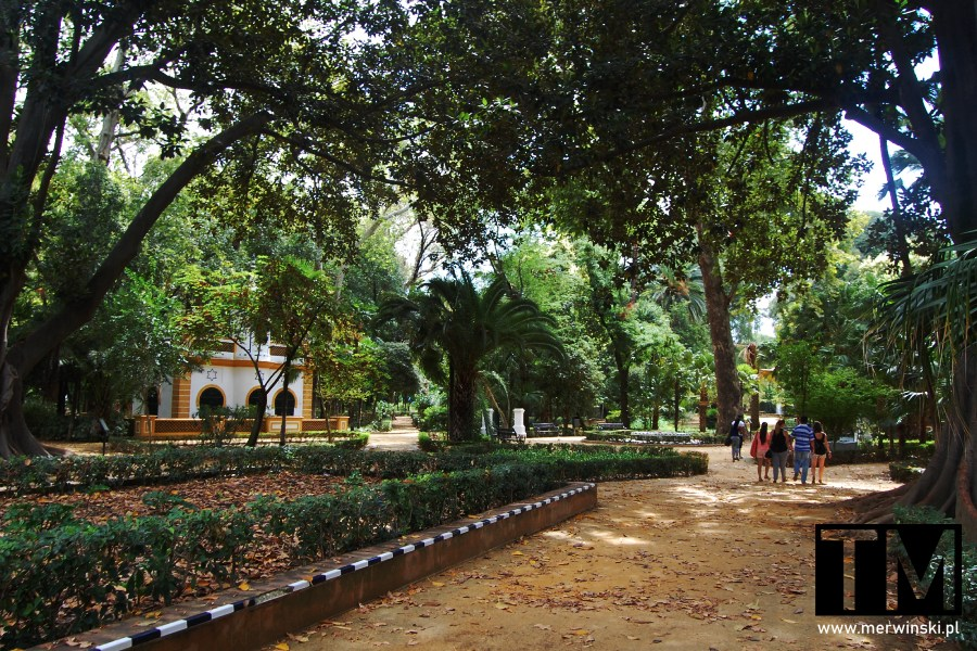 Parque de Maria Luisa w Sewilli