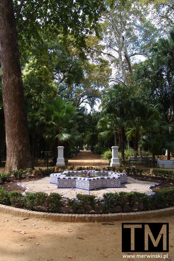 Park Marii Luizy w Andaluzji