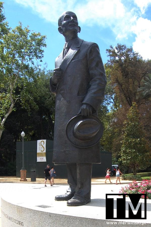 Pomnik Aníbala Gonzáleza Álvarez-Ossorio w Sewilli