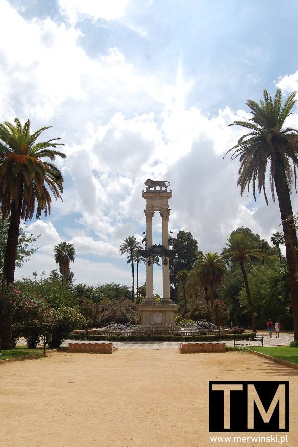 Pomnik Cristóbal Colón w Sewilli