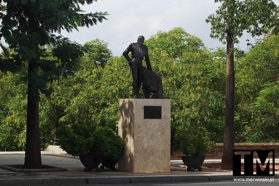 Manolo Vázquez - pomnik w Sewilli
