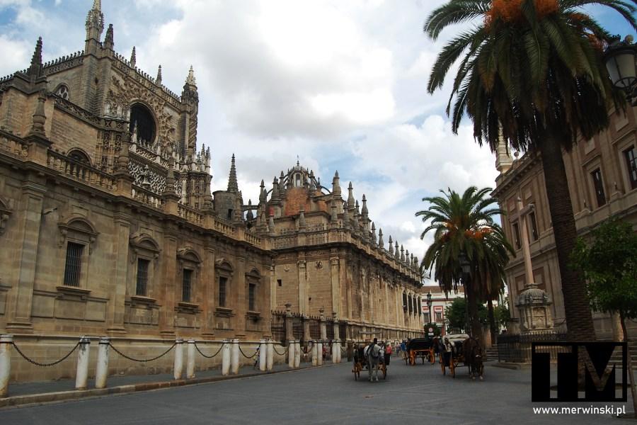 Hiszpańska katedra w Andaluzji