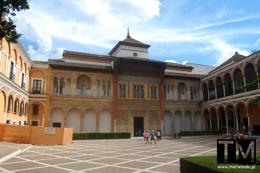 Dziedziniec Real Alcázar