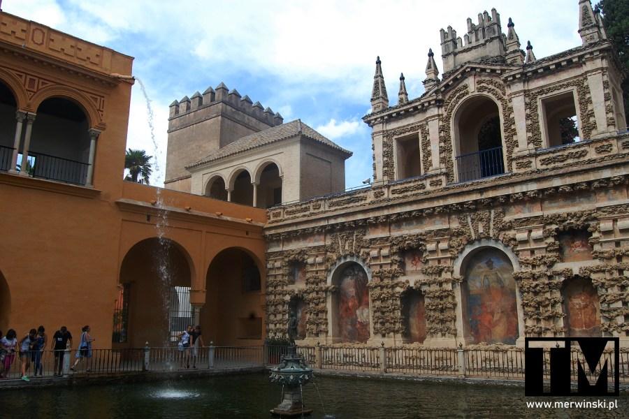 Ogrody przy Real Alcázar