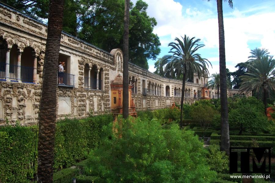 Ogrody przypałacowe Real Alcázar