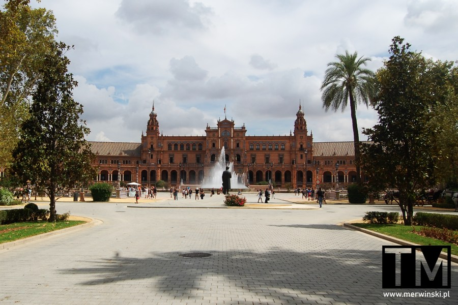 Plaza de España w Sewilli