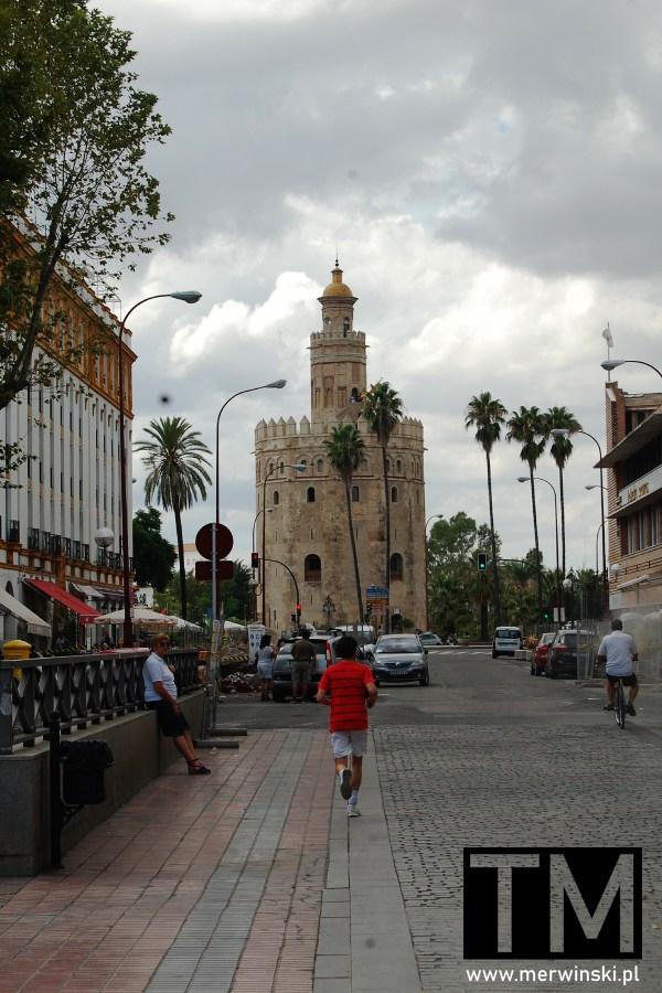 Złota Wieża w Andaluzji