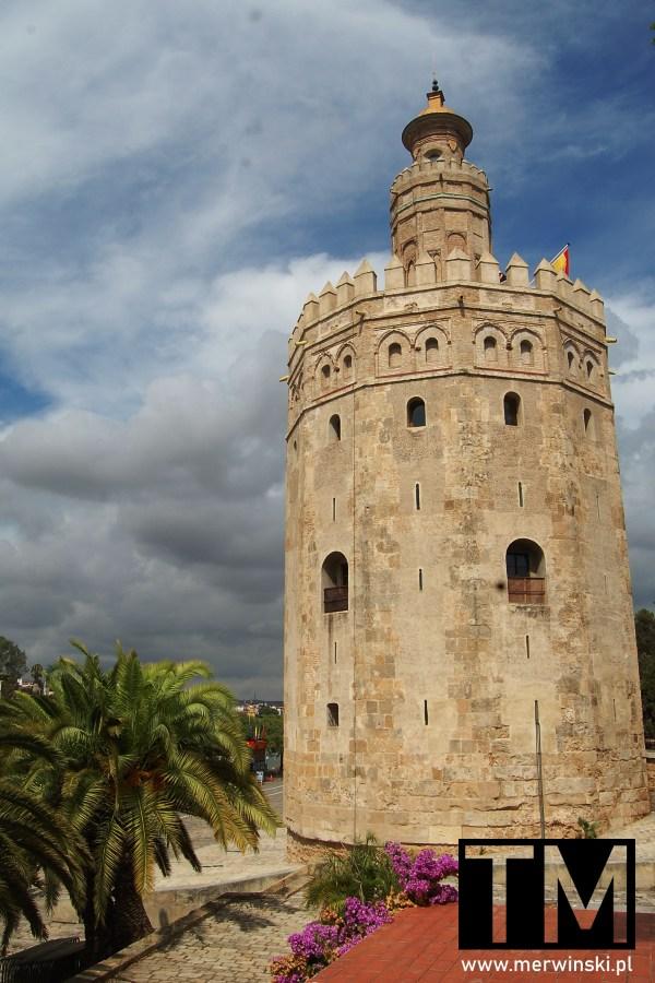 Torre del Oro w Sewilli