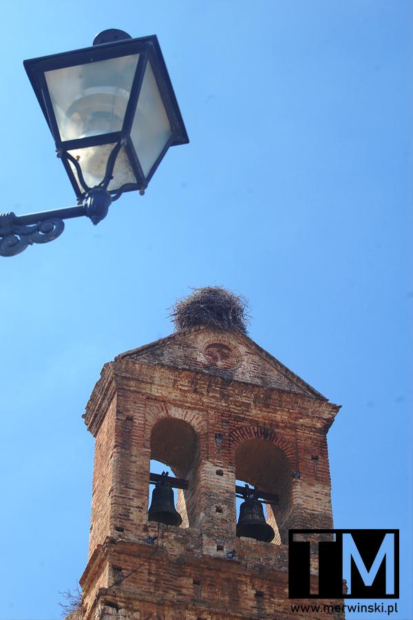 Wieża kościoła San Martin w Niebli