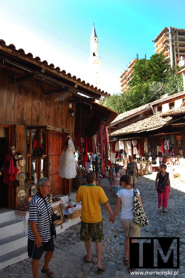 Bazar turecki w Kruji