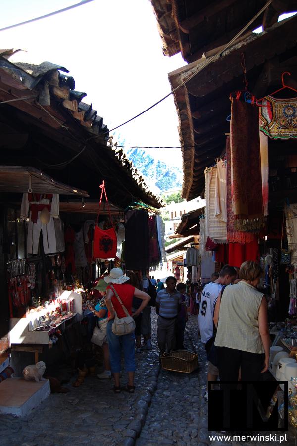 Alejka bazaru w Kruji