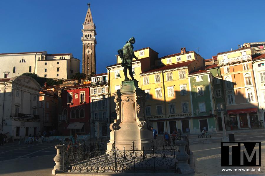 Plac Tartiniego w Piranie