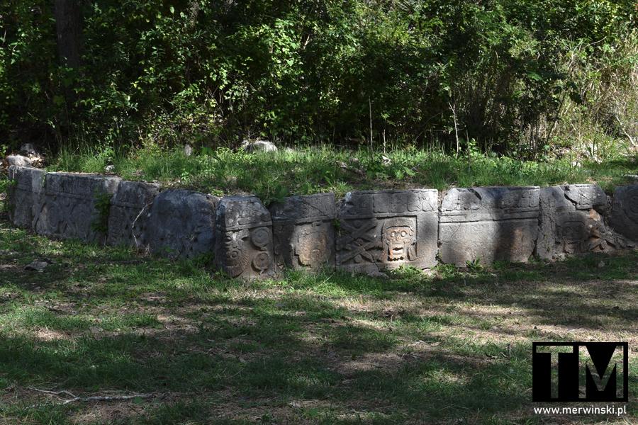 Majański cmentarz na Jukatanie