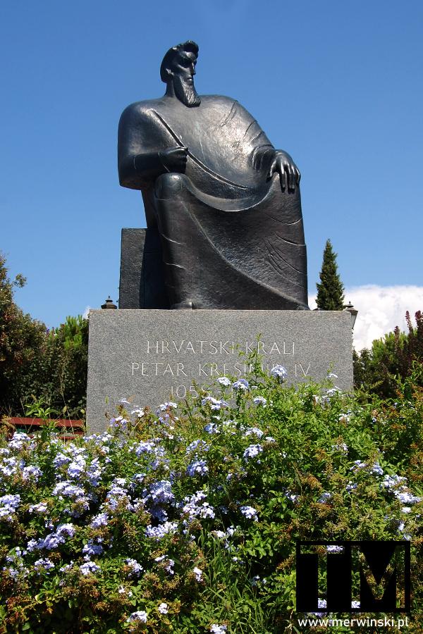 Szybenik - rzeźba Piotra Krzesimira IV Wielkiego