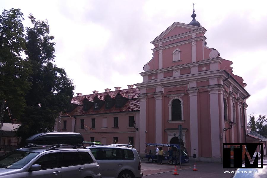 Kościół i klasztor klarysek w Zamościu