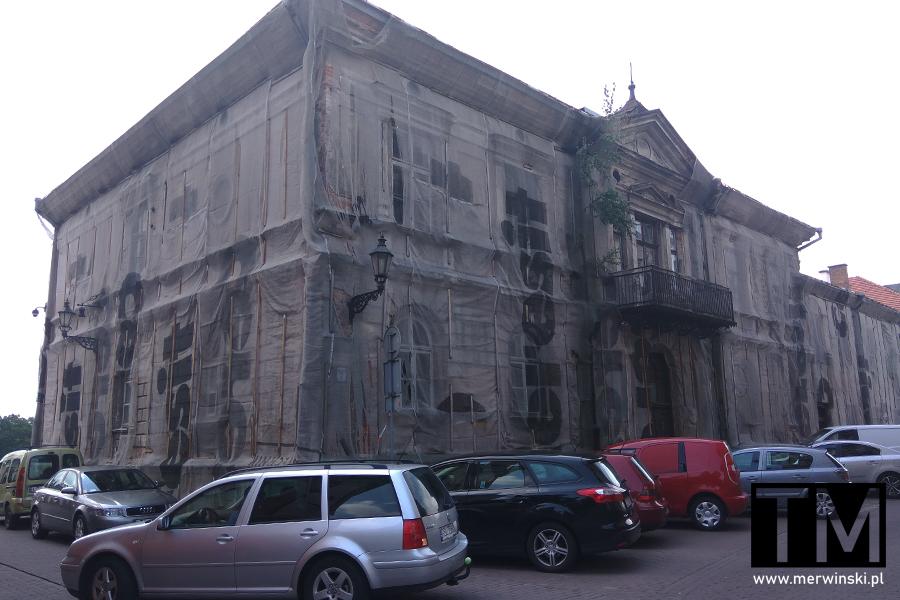 Stara budowla w Zamościu