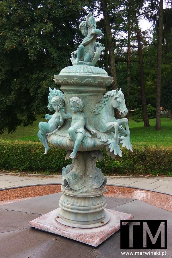 Statua ozdobna w Zamościu