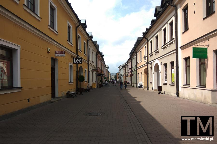 Uliczka Starego Miasta w Zamościu