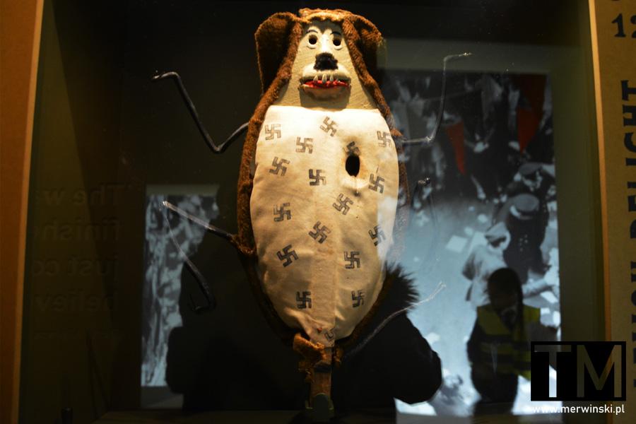 Eksponat w Imperialnym Muzeum Wojny w Londynie