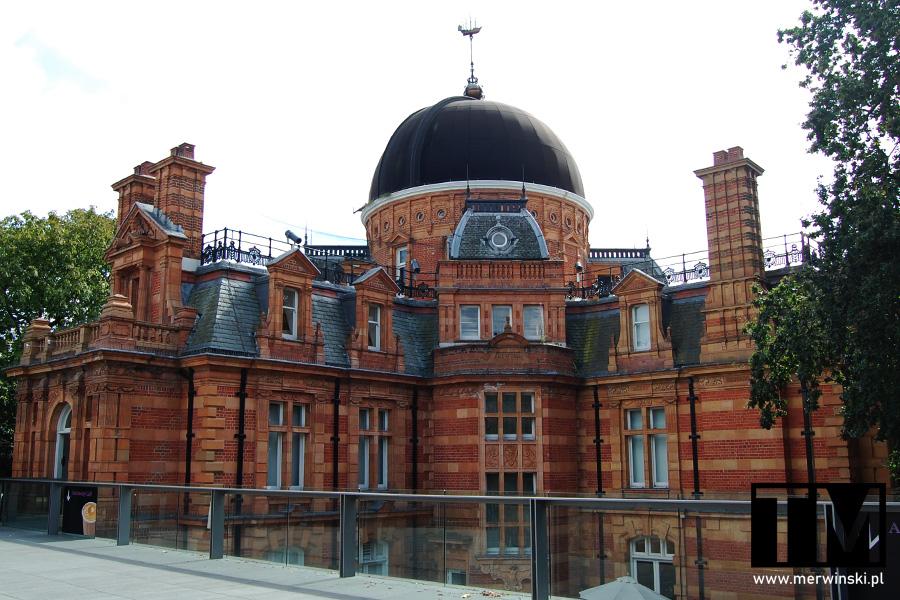 Królewskie Obserwatorium Astronomiczne w Greenwich w Londynie