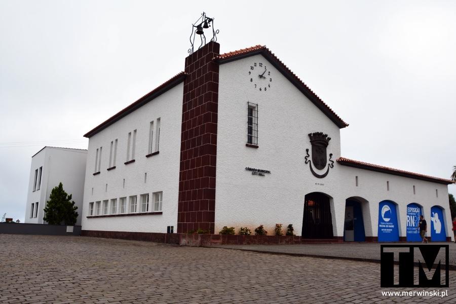 Ratusz w miejscowości Santana na Maderze