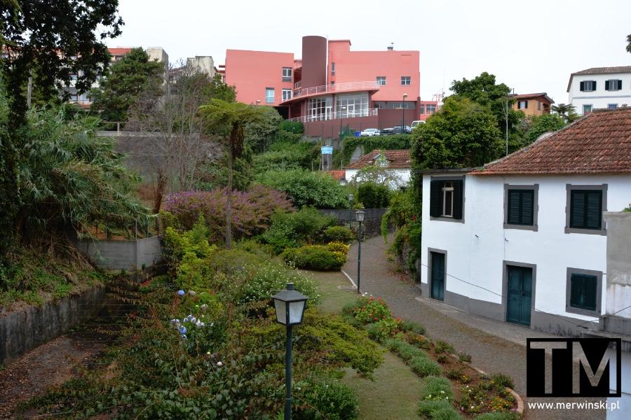 Widok na miasteczko Santana na Maderze