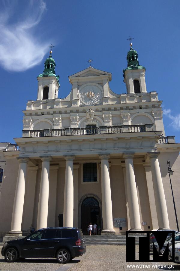 Budynek archikatedry św. Jana Chrzciciela i św. Jana Ewangelisty w Lublinie