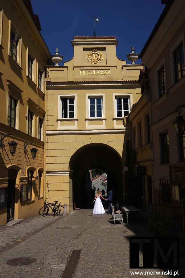 Widok na Bramę Grodzką w Lublinie