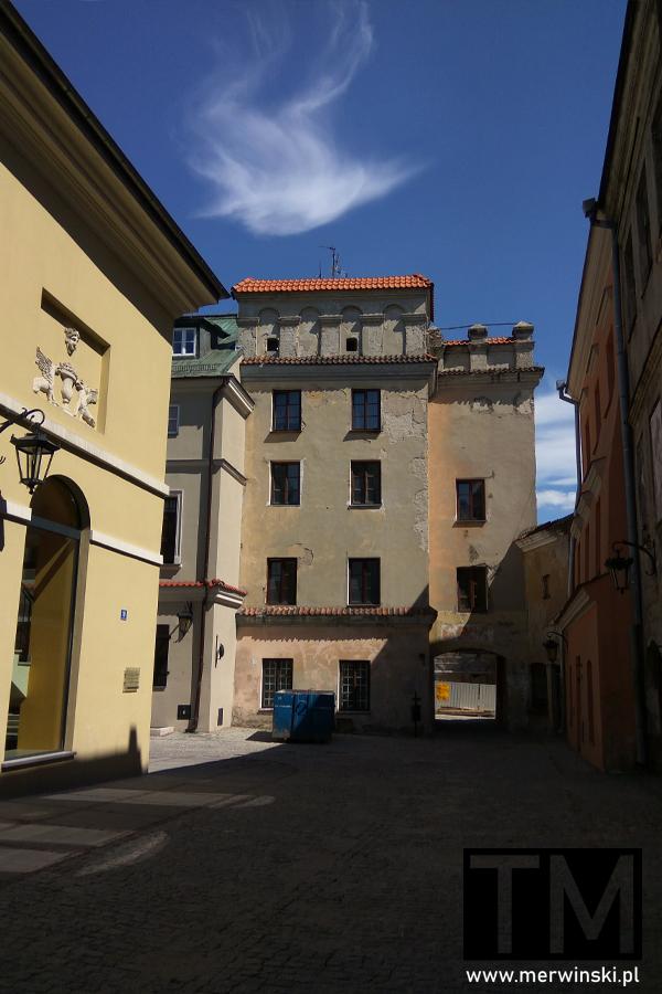 Stare zabudowania na Starym Mieście w Lublinie
