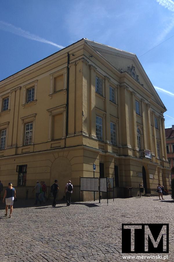 Budynek Trybunału Koronnego w Lublinie