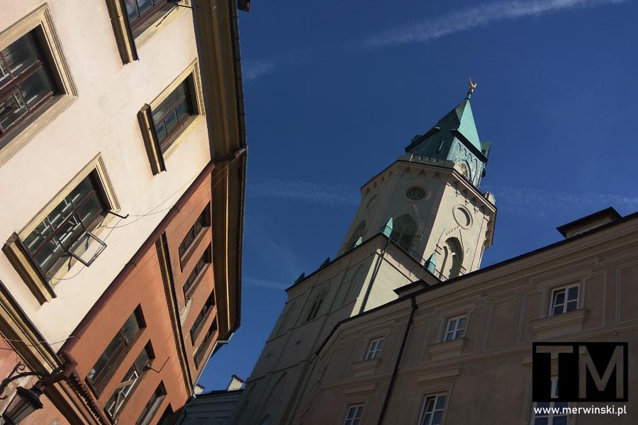 Kamienice i wieża Trynitarska w Lublinie