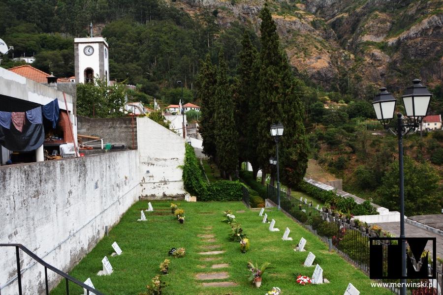 Cmentarz w Curral Das Freiras