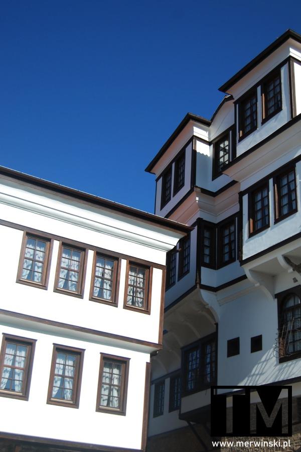 Elewacja domu Robev, Narodowego Muzeum Ochrydzkiego w Macedonii Północnej