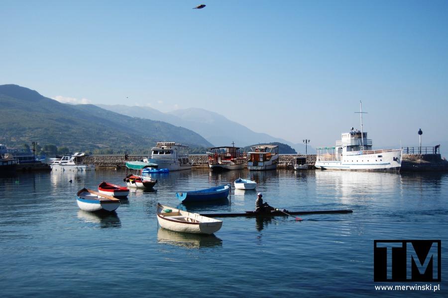 Port w Ochrydzie w Macedonii Północnej