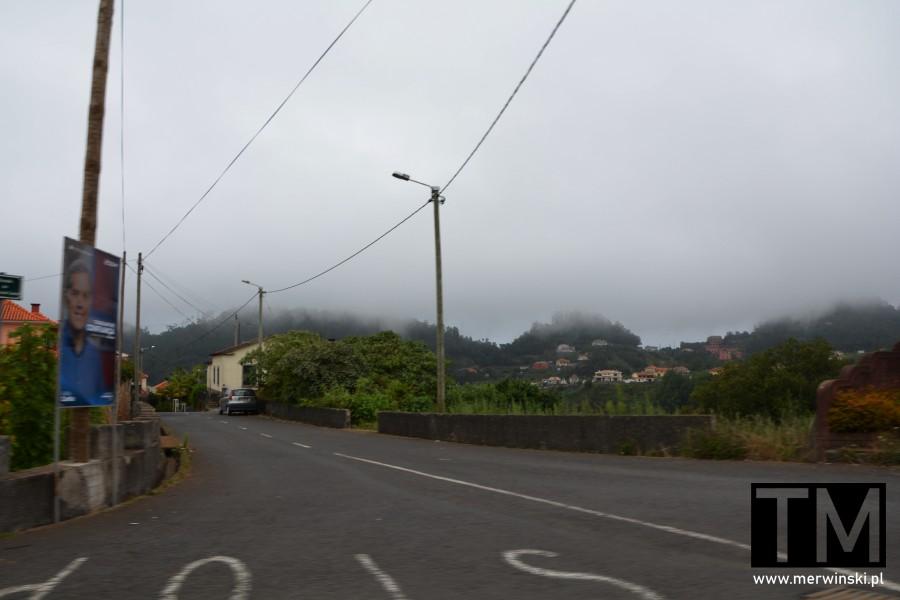 Drogi na prowincji na Maderze