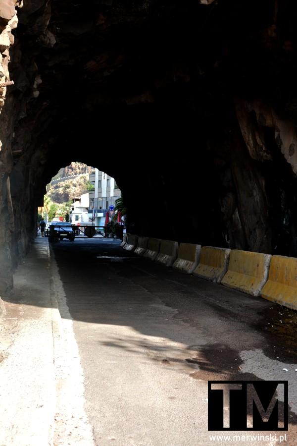Stary tunel drogowy na Maderze