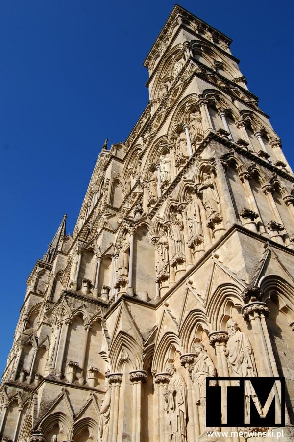 Front katedry Salisbury