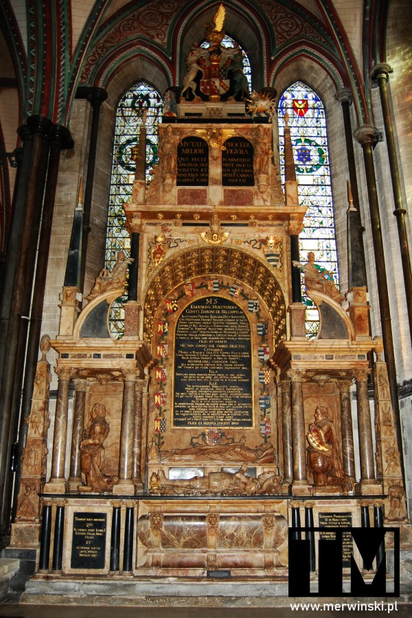Grobowiec hrabiego Hertford w katedrze w Salisbury