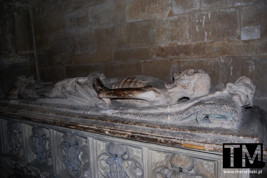 Grobowiec Thomasa Bennetta w katedrze w Salisbury