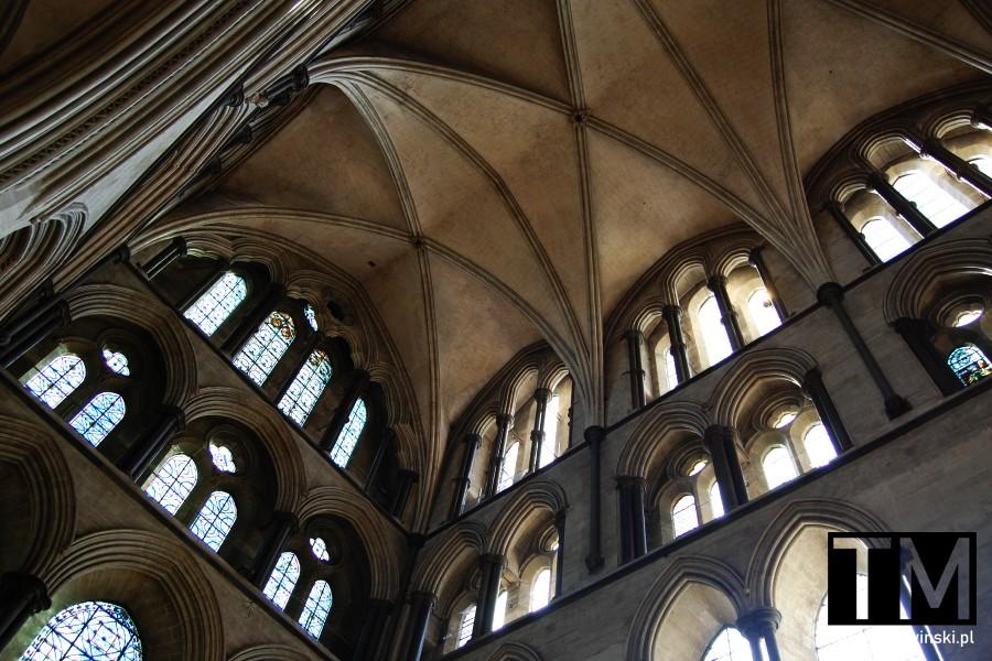 Sklepienie katedry w Salisbury