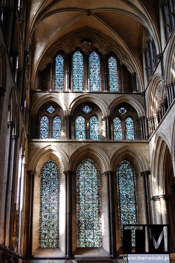 Transept katedry w Salisbury