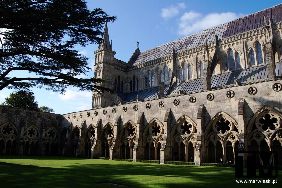 Wirydarz w katedrze w Salisbury