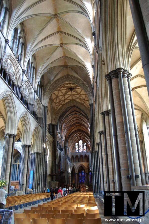 Nawa główna katedry Salisbury