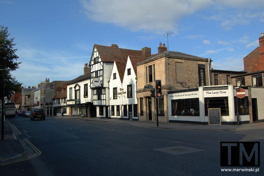 Uliczka miasta Salisbury