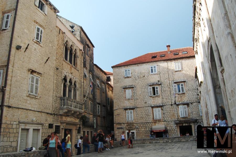 Kamienice w Trogirze, Chorwacja