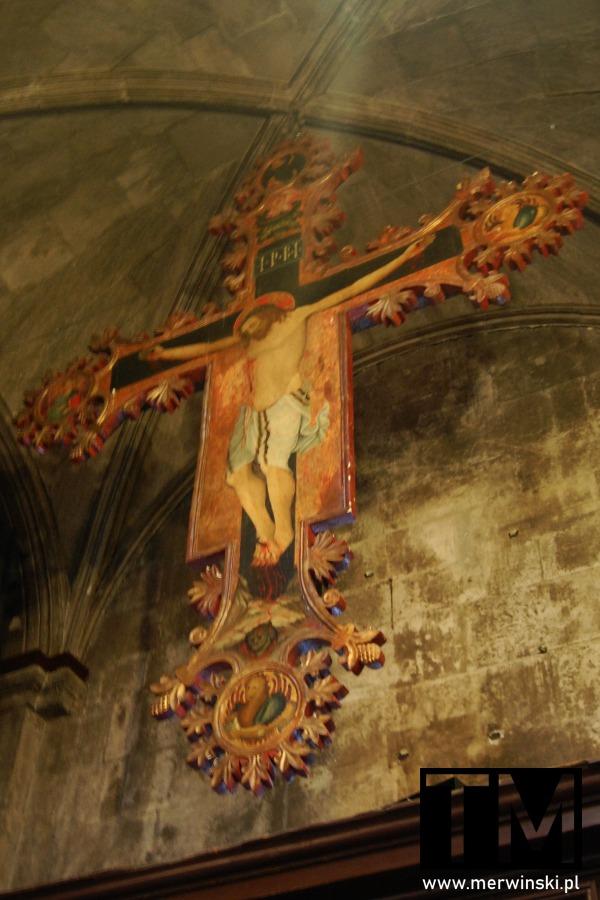 Trogir - katedra św. Wawrzyńca - krzyż