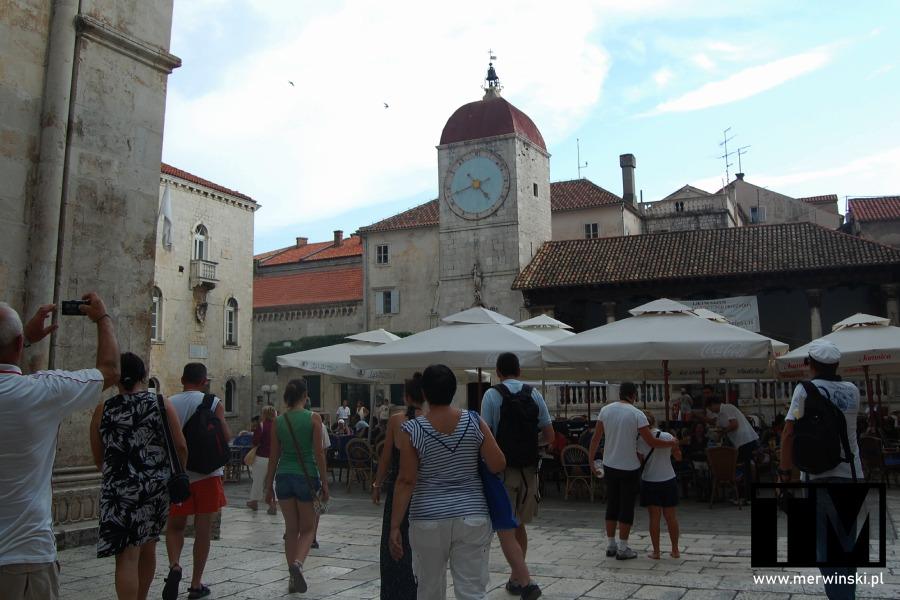 Plac Jana Pawła II w Trogirze