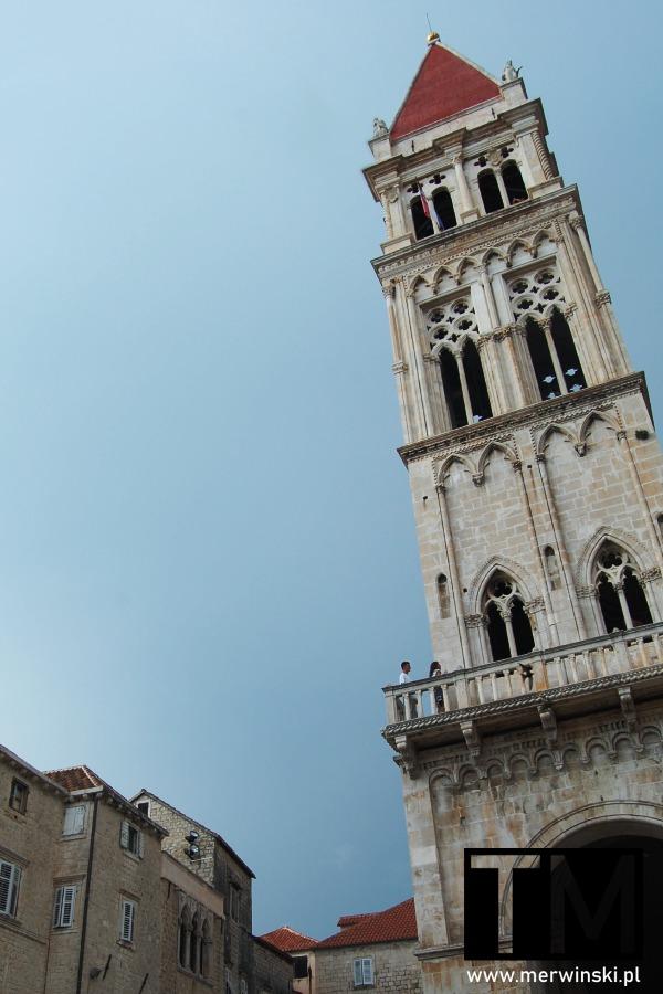 Wieża katedry św. Wawrzyńca w Trogirze