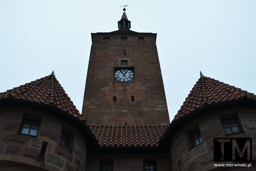 Biała Wieża w niemieckiej Norymberdze